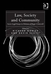 Law, Society and Community 1st Edition 9781317107293 1317107292