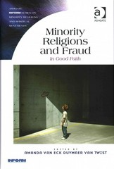 Minority Religions and Fraud 1st Edition 9781317095743 131709574X