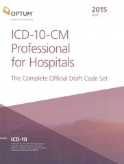 ICD-10-CM Professional for Hospitals 1st Edition 9781622540365 1622540360