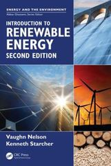 Introduction to Renewable Energy, Second Edition 2nd Edition 9781498701938 1498701930