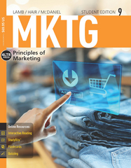 MKTG 9 (with Online, 1 term (6 months) Printed Access Card) 9th Edition 9781285860169 1285860160