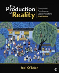 The Production of Reality 6th Edition 9781452217833 1452217831
