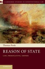 Reason of State 1st Edition 9781107089891 1107089891