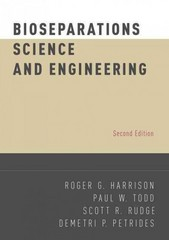 Bioseparations Science and Engineering 2nd Edition 9780195391817 0195391810