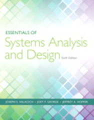 Essentials of Systems Analysis and Design 6th Edition 9780133546392 013354639X