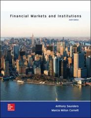Financial Markets and Institutions 6th Edition 9780077861667 0077861663