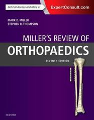 Miller's Review of Orthopaedics 7th Edition 9780323355179 032335517X