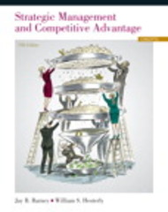 Strategic Management and Competitive Advantage 5th Edition 9780133129304 0133129306