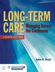 Long-Term Care 4th Edition 9781284054590 1284054594