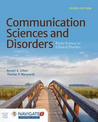 Communication Sciences and Disorders 3rd Edition 9781284043075 128404307X