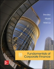 Fundamentals of Corporate Finance 8th Edition 9780077861629 0077861620