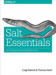 Salt Essentials 1st Edition 9781491900635 1491900636