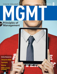 MGMT8 (with CourseMate, 1 term (6 months) Printed Access Card) 8th Edition 9781285867502 1285867505