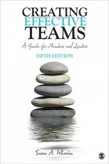 Creating Effective Teams 5th Edition 9781483346120 1483346129