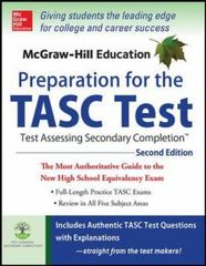 McGraw-Hill Education Preparation for the TASC Test 2nd Edition 2nd Edition 9780071843881 0071843884