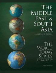 Middle East and South Asia 2014 48th Edition 9781475812350 1475812353