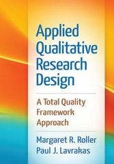 Applied Qualitative Research Design 1st Edition 9781462515752 1462515754