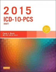 2015 ICD-10-PCS Draft Edition 1st Edition 9780323352550 0323352553