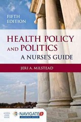 Health Policy And Politics 5th Edition 9781284048865 1284048861