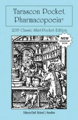 Tarascon Pocket Pharmacopoeia 2015 Classic Shirt-Pocket Edition 29th Edition 9781284058666 1284058662