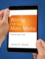 Writing for the Mass Media 9th Edition 9780133863277 0133863271
