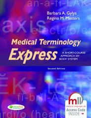 Medical Terminology Express 2nd Edition 9780803640320 0803640323