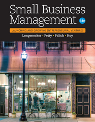 Small Business Management 18th Edition 9781305405745 1305405749
