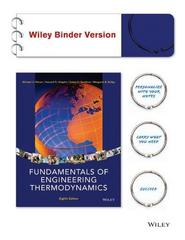 Fundamentals of Engineering Thermodynamics 8th Edition 9781118820445 1118820444