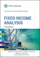 Fixed Income Analysis 3rd Edition 9781118999493 1118999495