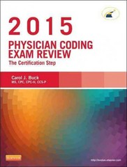 Physician Coding Exam Review 2015 1st Edition 9780323352482 0323352480