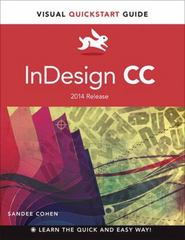 InDesign CC 1st Edition 9780133953657 0133953653