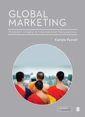 Global Marketing 1st Edition 9781446252642 1446252647