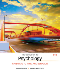 Introduction to Psychology 14th Edition 9781305091870 1305091876