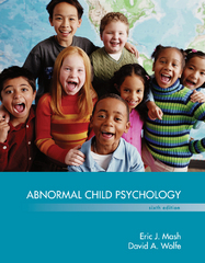 Abnormal Child Psychology 6th Edition 9781305445765 1305445767