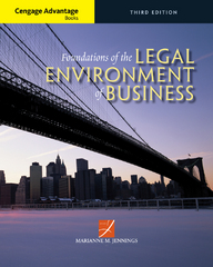 Cengage Advantage Books: Foundations of the Legal Environment of Business 3rd Edition 9781305465251 1305465253