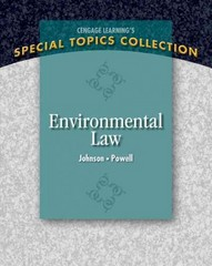 Environmental Law 1st Edition 9781133961581 1133961584