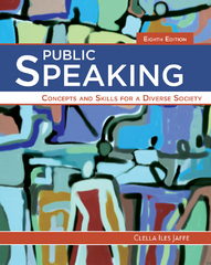 Public Speaking 8th Edition 9781285445854 1285445856