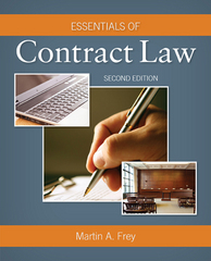 Essentials of Contract Law 2nd Edition 9781305544802 1305544803