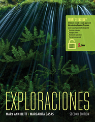 Exploraciones 2nd Edition 9781305252479 1305252470