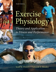 Exercise Physiology: Theory and Application to Fitness and Performance 9th Edition 9780077838782 0077838785
