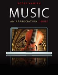 Music 7th Edition 9780077658250 0077658256