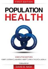 Population Health 1st Edition 9780983482499 0983482497