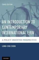 An Introduction to Contemporary International Law 3rd Edition 9780190227999 0190227990