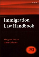 Immigration Law Handbook 9th Edition 9780198724087 019872408X