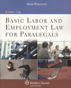 Basic Labor and Employment Law for Paralegals 0 9780735562332 0735562334