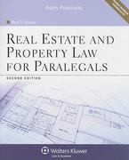 Real Estate and Property Law for Paralegals 2nd edition 9780735569447 0735569444