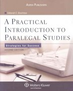 A Practical Introduction to Paralegal Studies 2nd edition 9780735569478 0735569479
