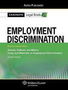 Employment Discrimination 7th Edition 9780735571754 0735571759