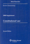Constitutional Law 2008 2nd edition 9780735572041 0735572046