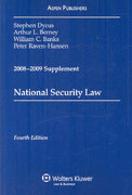 National Security Law 2008 4th edition 9780735573598 073557359X